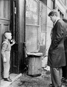 Robert F. Kennedy in Memphis